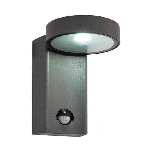 Saxby 67696 Oreti PIR LED Outdoor Wall Light Automatic